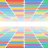 Modèle géométrique abstrait Images stock