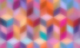 Modèle géométrique abstrait avec des formes géométriques Fond sans fin des éléments décoratifs ENV 10 illustration libre de droits