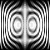 Modèle géométrique abstrait avec la déformation serrer-comprimée e Photographie stock libre de droits