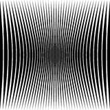 Modèle géométrique abstrait avec la déformation serrer-comprimée e Photographie stock