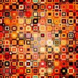 Modèle géométrique abstrait avec le point dans le style de disco Images stock