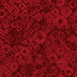 Modèle géométrique abstrait dans des couleurs rouges Photographie stock