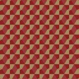 Modèle géométrique abstrait dans des tons amortis Image libre de droits