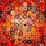 Modèle géométrique abstrait dans le style de disco Photo libre de droits