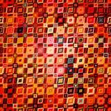 Modèle géométrique abstrait dans le style de disco Image stock