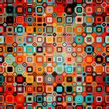 Modèle géométrique abstrait dans le style de disco Photographie stock