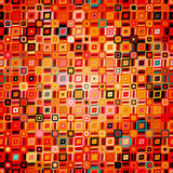 Modèle géométrique abstrait dans le style de disco Images libres de droits