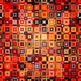 Modèle géométrique abstrait dans le style de disco Images stock