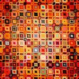 Modèle géométrique abstrait dans le style de disco Image libre de droits