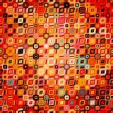 Modèle géométrique abstrait dans le style de disco Photographie stock libre de droits