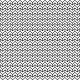 Modèle géométrique abstrait de Chevron de lumière noire et blanche Images stock