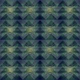Modèle géométrique abstrait en pastel vert de fond Photos stock