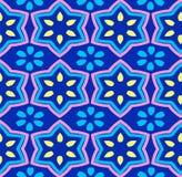 Modèle géométrique abstrait sans couture Photos stock