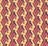Modèle géométrique abstrait sans couture avec des barres - dirigez eps8 illustration stock