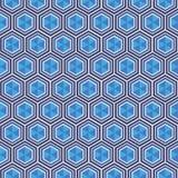 Modèle géométrique avec des losanges Photos libres de droits