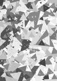Modèle géométrique avec des triangles Images libres de droits