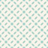 Modèle géométrique avec la grille carrée Rétro illustration du cru background Images stock