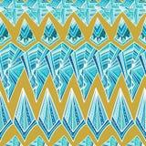 Modèle géométrique aztèque illustration libre de droits