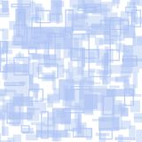 Modèle géométrique blanc et bleu lumineux illustration libre de droits