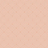 Modèle géométrique blanc sur le beige illustration de vecteur