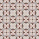 Modèle géométrique décoratif composé de triangles Photo libre de droits