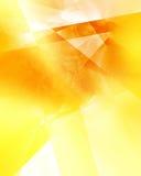 Modèle géométrique d'or Photos libres de droits