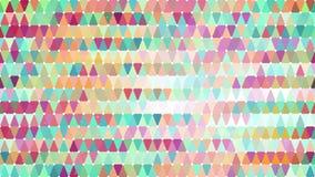 Modèle géométrique d'abrégé sur multicolore triangles Photographie stock libre de droits