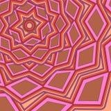 Modèle géométrique d'Abstarct Image stock
