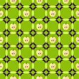 Modèle géométrique d'Apple Image stock