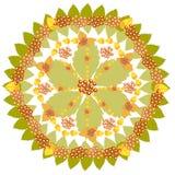 Modèle géométrique d'automne Photographie stock