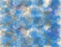 Modèle géométrique d'hexagone Images libres de droits