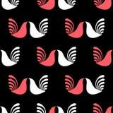 Modèle géométrique d'oiseaux Image libre de droits