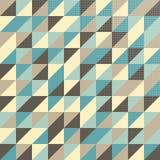 Modèle géométrique dans des couleurs de vintage Photographie stock libre de droits