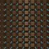 Modèle géométrique de Brown Photographie stock libre de droits