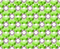 Modèle géométrique de couleur ultra-violette et verte d'isolement sur le fond blanc - dirigez l'illustration, EPS10 Images libres de droits
