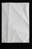 Modèle géométrique de livre blanc, fond texturisé Photo libre de droits