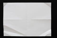 Modèle géométrique de livre blanc, fond texturisé Photographie stock libre de droits