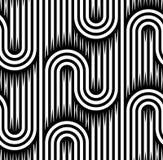 Modèle géométrique de modèle abstrait sans couture Image libre de droits