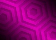 Modèle géométrique de papier rose, calibre abstrait de fond pour le site Web, bannière, carte de visite professionnelle de visite illustration libre de droits