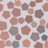 Modèle géométrique de pentagone d'abrégé sur sans couture fond pour la conception Web, concept, vecteur et graphique illustration libre de droits