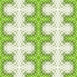 Modèle géométrique de répétition sans couture vert Photos libres de droits