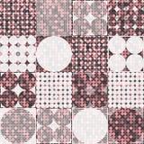 Modèle 1980 géométrique de style d'art de bruit de mode d'amusement illustration libre de droits