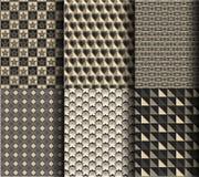 Modèle géométrique de style moderne Photo stock