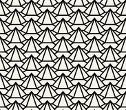 Modèle géométrique de texture de grille d'hexagone d'ensemble du soulagement 3d image stock