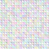 Modèle géométrique de triangle olographe illustration de vecteur