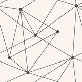 Modèle géométrique de triangles sans couture de vecteur Photos stock