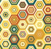 Modèle géométrique de vecteur coloré sans couture Image libre de droits