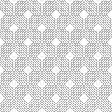 Modèle géométrique de vecteur de losange gris-clair sans couture illustration de vecteur