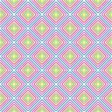 Modèle géométrique de vecteur de losange sans couture de couleur illustration de vecteur