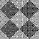 Modèle géométrique de zigzag sans couture de conception Image libre de droits